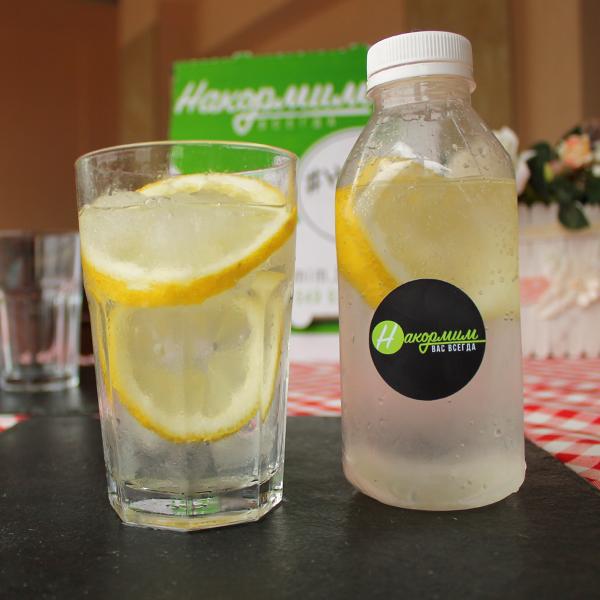 Газировка с лимоном